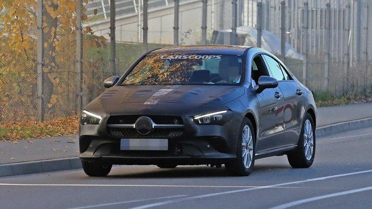 Mercedes-Benz готує до випуску новий CLA 2019