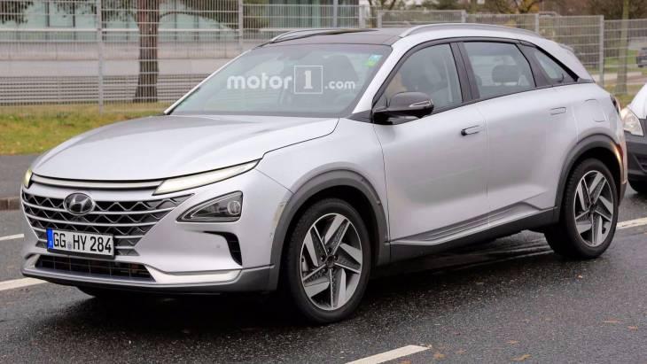 На тестах помічений новий водневий кросовер Hyundai