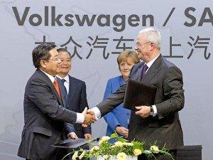 Volkswagen побудує гігантський завод в Китаї