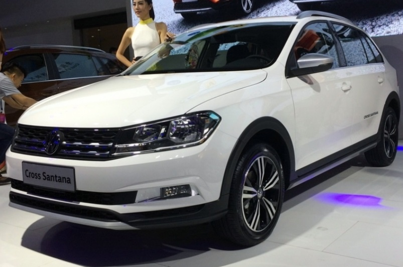 Volkswagen Cross Santana - позашляховий універсал