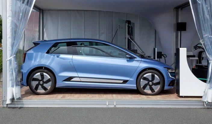 Volkswagen вперше показав