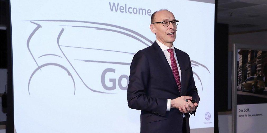 Volkswagen розповів про Golf восьмого покоління