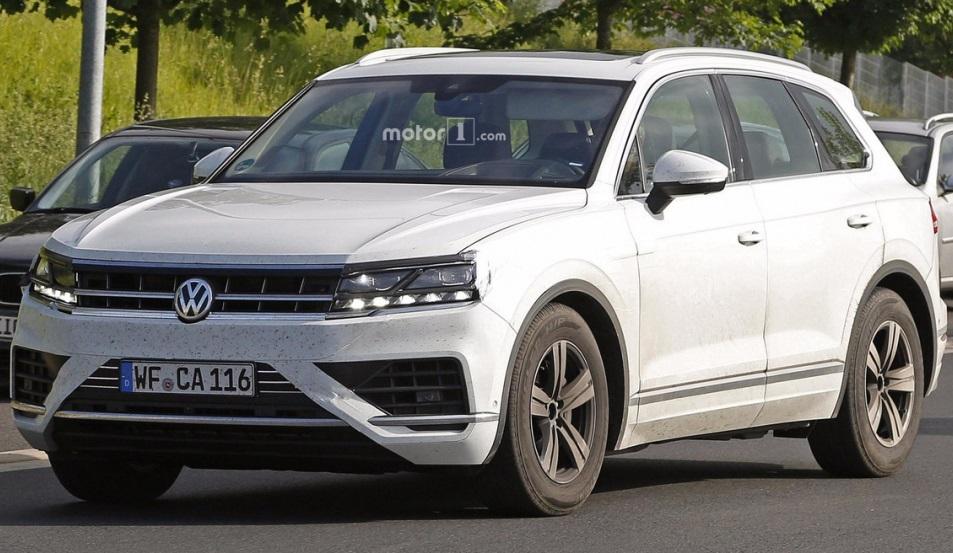 Volkswagen Touareg 2018: нова інформація про кросовер