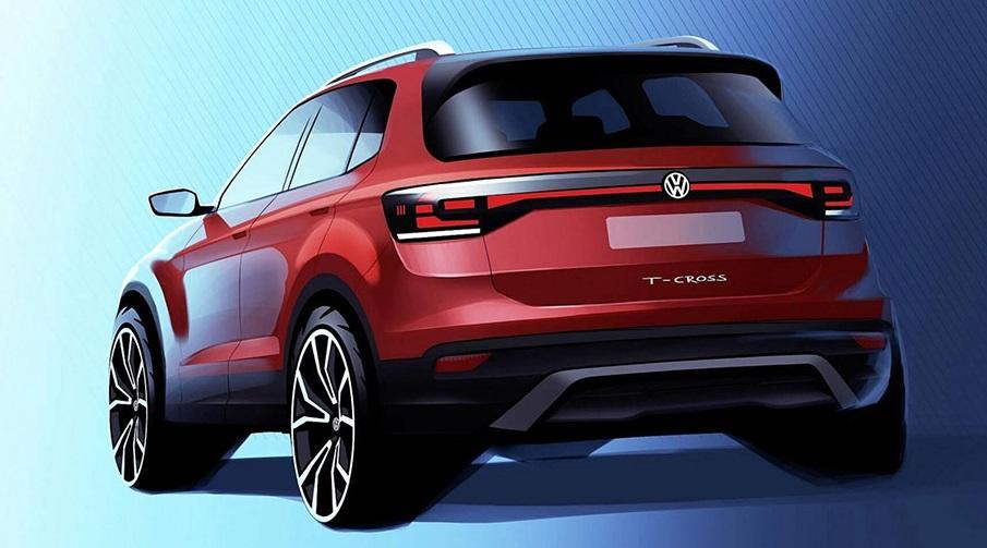 Volkswagen вперше показав новий кросовер T-Cross