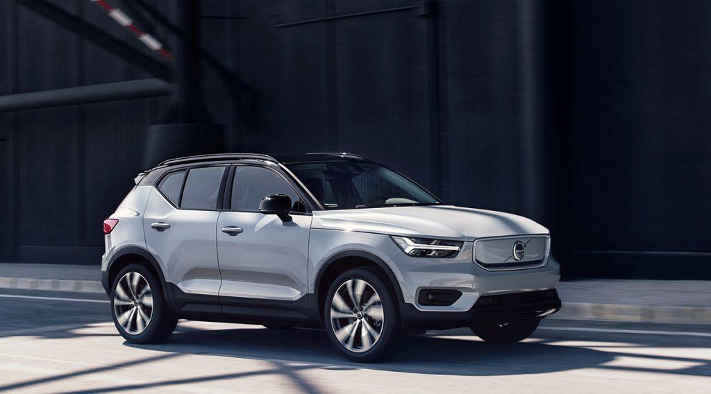 Volvo показала свій перший в історії електромобіль