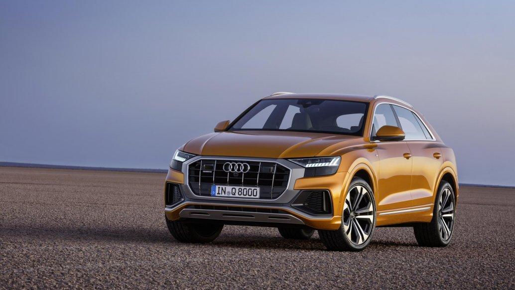 Audi Q8: компанія показала новий кросовер