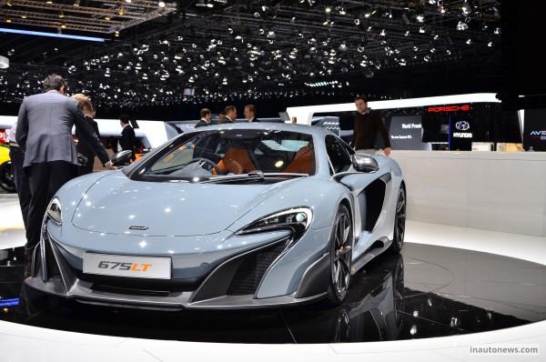 McLaren 675LT: потужність та краса