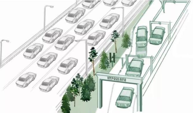 Нововведення для водіїв: безпілотним автомобілям виділять окрему смугу
