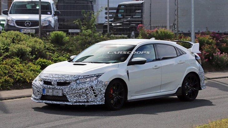 Якою буде нова Honda Civic Type R