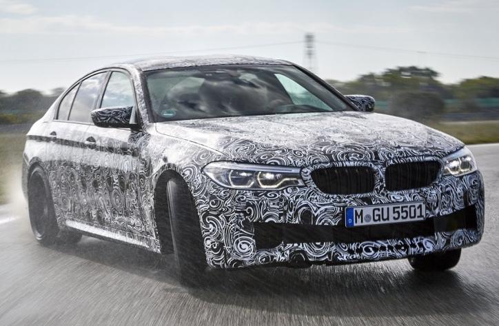 Новий BMW M5: перша офіційна інформація