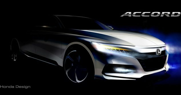 Honda Accord 2018: перше зображення