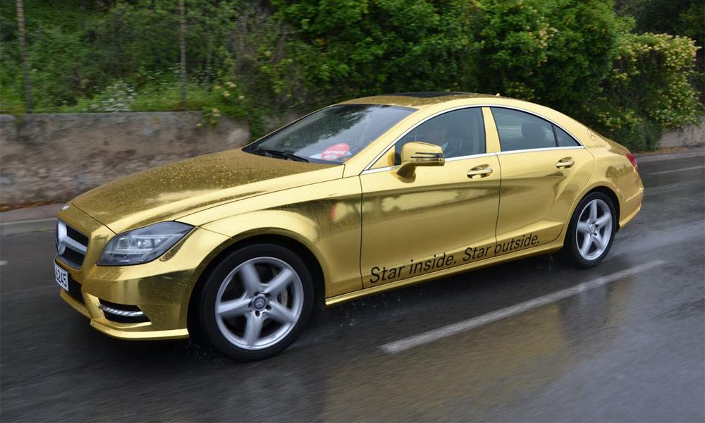 В Канни привезуть «золоті» Mercedes AMG
