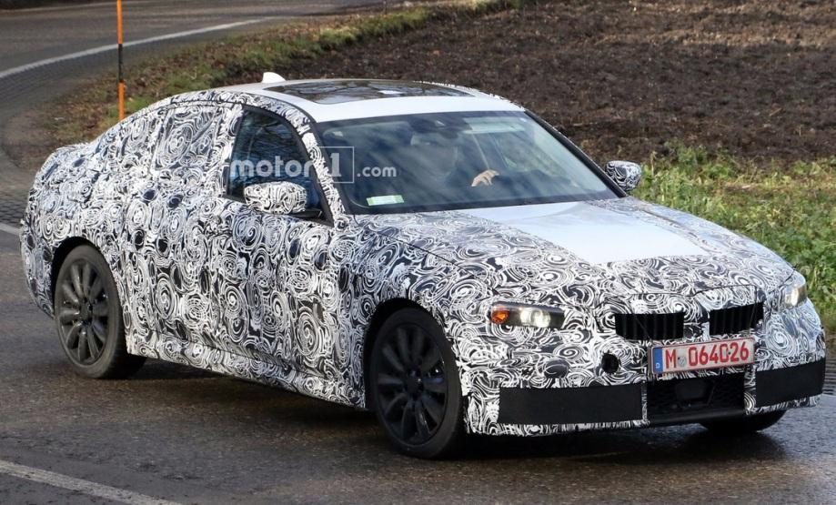 Новий седан BMW 3-Series потрапив в об'єктиви відеокамер