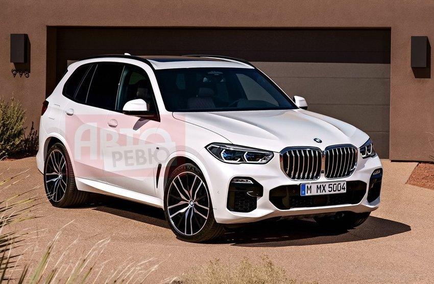 З'явилися фотографії нового BMW X5