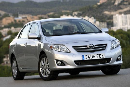Toyota відкликає 96 000 Corolla з дефектними гальмами